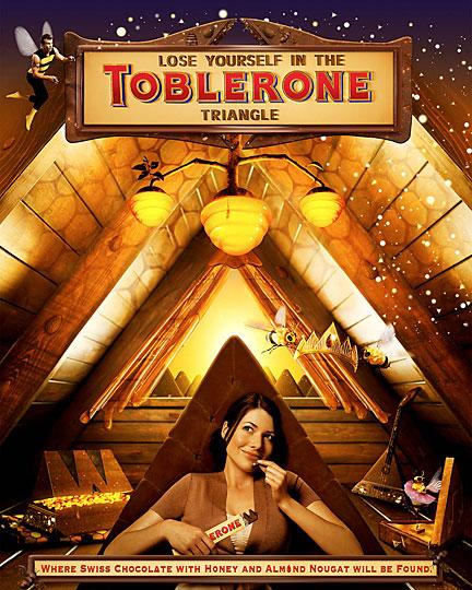 Toblerone Chocolate Dreamland