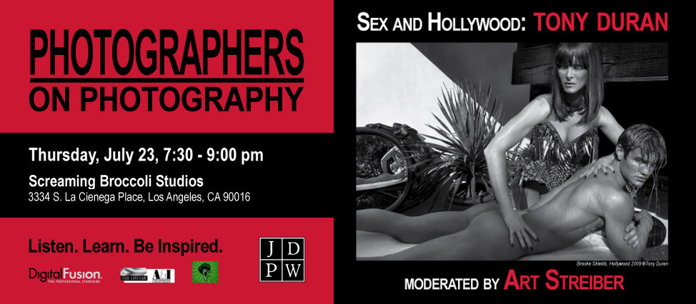 Photographers on Photography : TonyDuran
