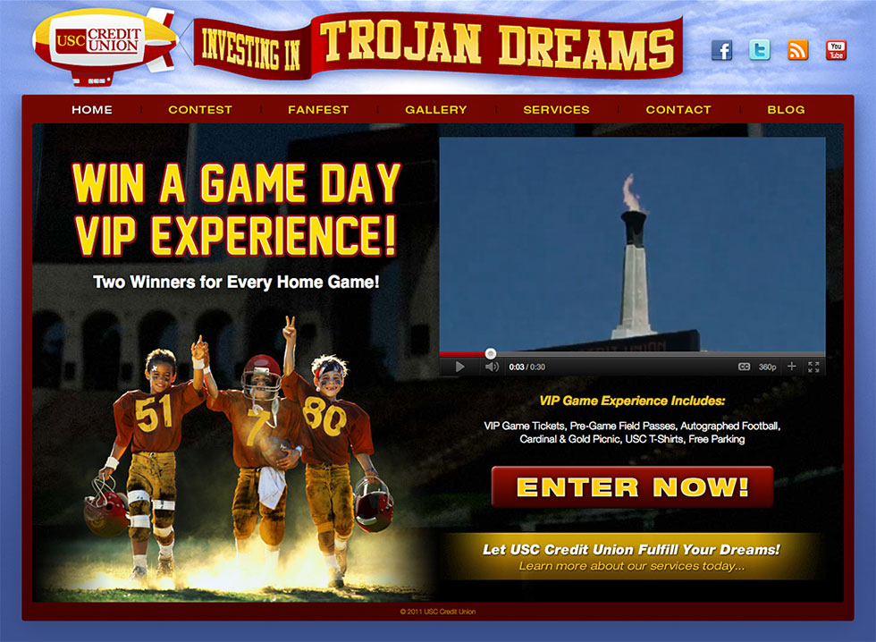 USC Credit Union : Trojan Dreams