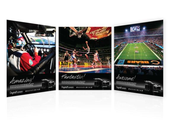 DF + Hasselblad Ads