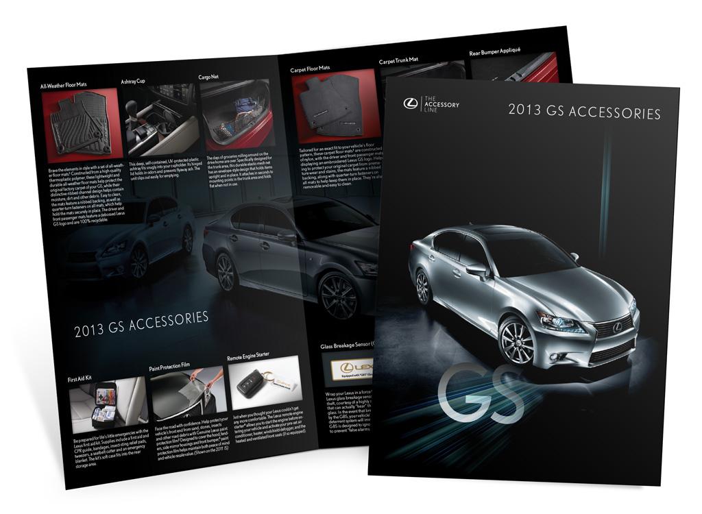 Lexus – 2013 GS Accessories – Brochure