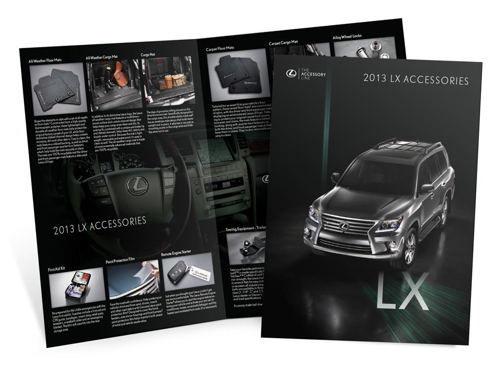 Lexus – 2013 LX Accessories – Brochure