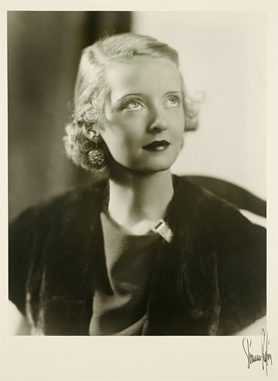 Bette Davis circa 1920, Photography by Strauss-Peyton