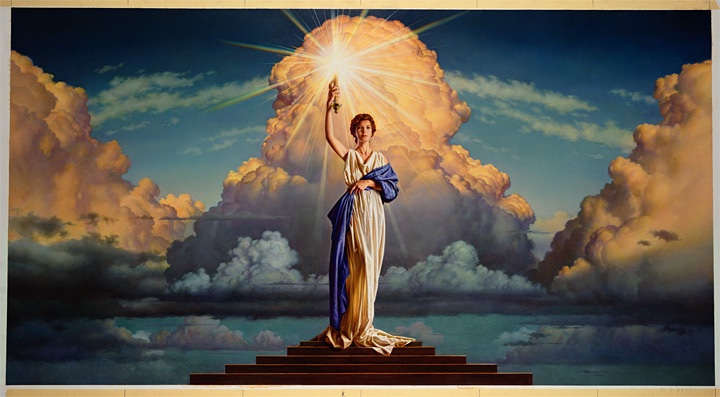 Columbia Pictures Lady by M. Deas, 1992