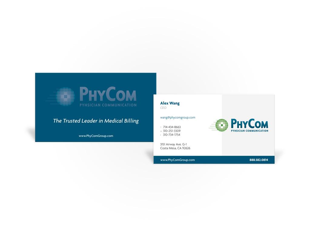 PhyCom – Business Card