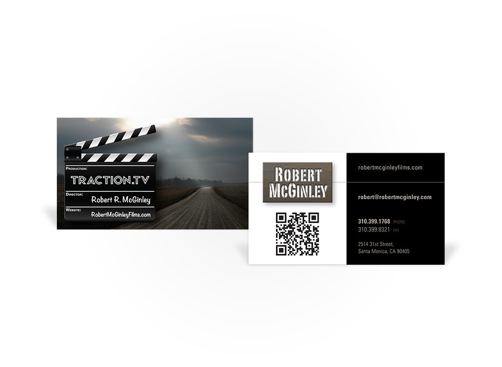 Traction.TV – Business Card