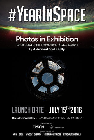 #YearInSpace Poster
